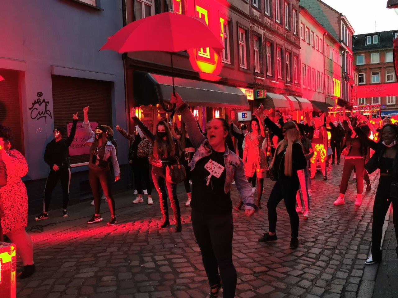 """11. 07. 2020 – Pressespiegel der Demo in Hamburg: """"Sexy Aufstand auf der Reeperbahn"""""""