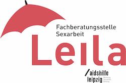 Logo der Fachberatungsstelle für Sexarbeit Leila