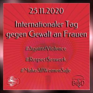 Aufruf zur Demo am Internationalen Tag gegen Gewalt an Frauen